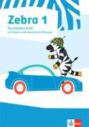 Cover-Bild zu Zebra 1. Buchstabenheft mit digitalen Medien Klasse 1