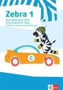Cover-Bild zu Zebra 1. Buchstabenheft PLUS in Grundschrift mit Videos und interaktiven Übungen Klasse 1