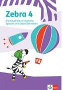 Cover-Bild zu Zebra 4. Trainingsheft zum Nachkauf Klasse 4