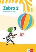 Cover-Bild zu Zebra 2. Arbeitsheft Sprache