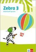 Cover-Bild zu Zebra 3. Arbeitsheft Sprache Klasse 3
