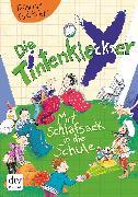 Cover-Bild zu Die Tintenkleckser 1 - Mit Schlafsack in die Schule (eBook) von Geisler, Dagmar