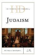 Cover-Bild zu Historical Dictionary of Judaism (eBook) von Solomon, Norman