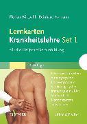 Cover-Bild zu Lernkarten Krankheitslehre Set 1 für die Heilpraktikerausbildung von Wittpahl, Florian