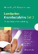 Cover-Bild zu Lernkarten Krankheitslehre Set 2 für die Heilpraktikerausbildung von Wittpahl, Florian