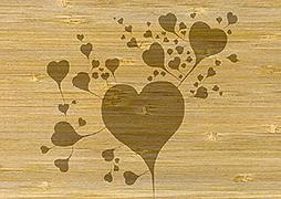 Cover-Bild zu PK Bambus Wishes110 Herzen