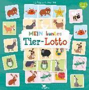 Cover-Bild zu Holtfreter, Nastja (Illustr.): Mein buntes Tier-Lotto