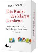 Cover-Bild zu Dobelli, Rolf: Die Kunst des klaren Denkens