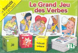 Cover-Bild zu Brasioli, Alfredo: Français: Le grand jeu des verbes - ELI Board Games