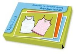 Cover-Bild zu Bildkarten zur Sprachförderung Grundwortschatz: Kleidung