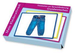 Cover-Bild zu Fotokarten zur Sprachförderung Grundwortschatz: Mein Kleiderschrank von Redaktionsteam Verlag an der Ruhr