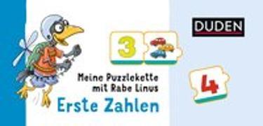 Cover-Bild zu Meine Puzzlekette mit Rabe Linus - Erste Zahlen von Raab, Dorothee