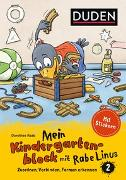Cover-Bild zu Mein Kindergartenblock mit Rabe Linus (2) von Raab, Dorothee