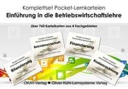 Cover-Bild zu Lernkarten Betriebswirtschaft Komplettset von Kühl, Oliver