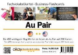 """Cover-Bild zu Fach-Vokabelkartei """"Au Pair"""" - Deutsch - US-Englisch von Kühl, Oliver"""