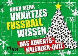 Cover-Bild zu Noch mehr unnützes Fußballwissen Quiz