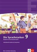Cover-Bild zu Lindauer, Thomas (Hrsg.): Die Sprachstarken 9. Schuljahr. Arbeitsheft erweiterte Ansprüche
