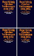 Cover-Bild zu König, René: Zürcher Vorlesungen (1938-1952)