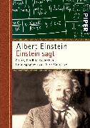 Cover-Bild zu Einstein sagt von Einstein, Albert
