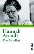 Cover-Bild zu Das Urteilen (eBook) von Arendt, Hannah