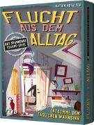 Cover-Bild zu Abfalter, Katrin: Flucht aus dem Alltag - Das spannende Escape-Spiel