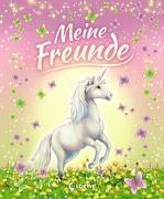 Cover-Bild zu Schröter, Carolin Ina (Illustr.): Meine Freunde (Einhörner)