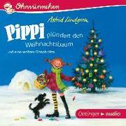 Cover-Bild zu Lindgren, Astrid: Pippi plündert den Weihnachtsbaum und eine weitere Geschichte (CD)