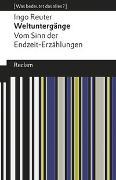 Cover-Bild zu Weltuntergänge. Vom Sinn der Endzeit-Erzählungen von Reuter, Ingo