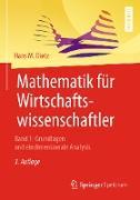 Cover-Bild zu Mathematik für Wirtschaftswissenschaftler (eBook) von Dietz, Hans M.