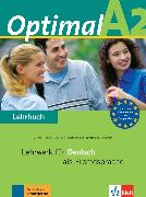 Cover-Bild zu Optimal A2. Lehrbuch - Optimal
