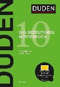 Cover-Bild zu Duden - Das Bedeutungswörterbuch (eBook) von Dudenredaktion (Hrsg.)