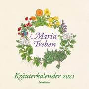 Cover-Bild zu Kräuterkalender 2021 von Treben, Maria