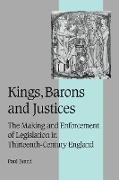 Cover-Bild zu Kings, Barons and Justices von Brand, Paul