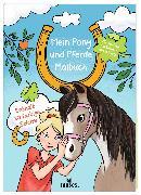 Cover-Bild zu Mein Pony und Pferde Malbuch von Kaiser, Natasa (Illustr.)