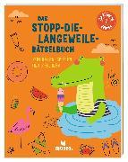 Cover-Bild zu Das-Stopp-die-Langeweile_Rätselbuch von Golding, Elizabeth