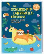 Cover-Bild zu Das Schluss-mit-Langeweile-Rätselbuch von Golding, Elizabeth