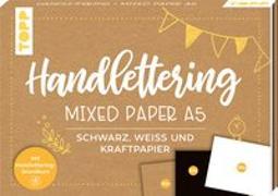 Cover-Bild zu Handlettering Mixed Paper Block A5 von frechverlag
