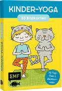 Cover-Bild zu Kinder-Yoga - 30 Bildkarten für kleine Yogis im Kindergarten- und Vorschulalter von Harisch, Luisa