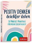 Cover-Bild zu Positiv denken - leichter leben