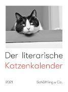 Cover-Bild zu Der literarische Katzenkalender 2021