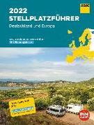 Cover-Bild zu ADAC Stellplatzführer 2022 Deutschland und Europa