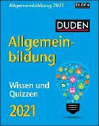 Cover-Bild zu Duden Allgemeinbildung Kalender 2021 von Huhnold, Thomas