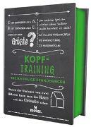 Cover-Bild zu Quiz-Box Kopftraining von Kiefer, Philip
