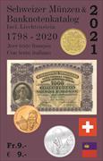 Cover-Bild zu Schweizer Münzen- und Banknotenkatalog 2021