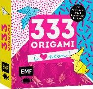 Cover-Bild zu 333 Origami - I love Neon!