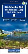 Cover-Bild zu Süd-Schweden (Süd) Nr. 01 Regionalkarte Schweden 1:250 000. 1:250'000 von Hallwag Kümmerly+Frey AG (Hrsg.)