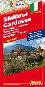 Cover-Bild zu Südtirol, Gardasee Strassenkarte 1:190 000. 1:190'000 von Hallwag Kümmerly+Frey AG (Hrsg.)
