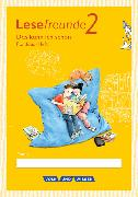 Cover-Bild zu Lesefreunde 2. Schuljahr. Neubearbeitung 2015. Lernentwicklungsheft. östliche BL,BE von Gutzmann, Marion