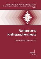 Cover-Bild zu Romanische Kleinsprachen heute von Dahmen, Wolfgang (Hrsg.)