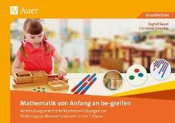 Cover-Bild zu Mathematik von Anfang an be-greifen von Sauer, Ingrid